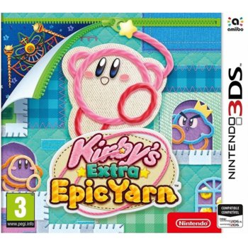 Kirby's Extra Epic Yarn Nintendo 3DS product
