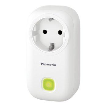 """Смарт контакт Panasonic KX-HNA101FXW, за система """"умен дом"""" за контрол в дома, външен/вътрешен обхват 300/50м, 2400W максимално натоварване image"""