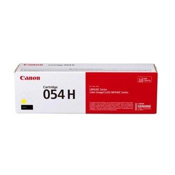 Тонер касета за Canon LBP62x series, MF64x series, Yellow, - CRG-054H Y - Canon - Заб.: 2300 k image