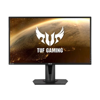 "Монитор Asus TUF Gaming VG27AQ, 27"" (68.58 cm) IPS панел, 165Hz, WQHD, 1ms, 350cd/m2, DisplayPort, 2x HDMI image"