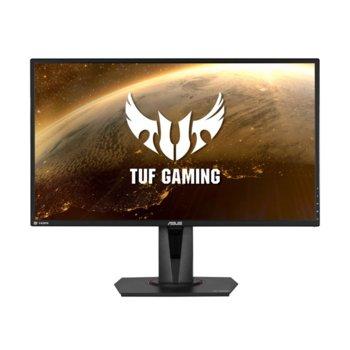 """Монитор Asus TUF Gaming VG27AQ, 27"""" (68.58 cm) IPS панел, 165Hz, WQHD, 1ms, 350cd/m2, DisplayPort, 2x HDMI image"""
