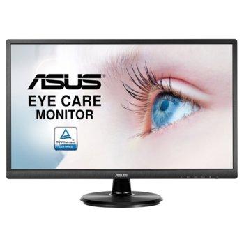 """Монитор Asus VA249NA, 23.8""""(60.45 cm) VA панел, Full HD, 5ms, 100000000:1, 250 cd/m2, VGA, DVI-D image"""