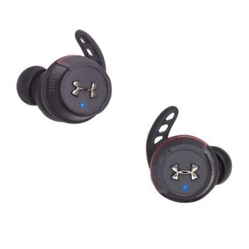 Слушалки JBL Under Armour, безжични, Bluetooth, черни image