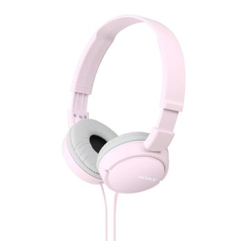 Слушалки Sony MDR-ZX100AP, розов image