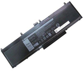 Батерия (оригинална) за лаптоп Dell, съвместима с модели Latitude E5570 Precision 3510, 6-cell, 11.1V, 7600mAh image