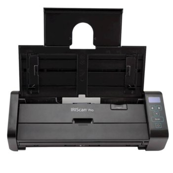 Скенер iris IRIScan Pro 5, 600 x 600 dpi, A4, двустранно сканиране, ADF, USB image