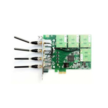VoIP GSM шлюз Sangoma W400, възможни варианти от 1x до 4x GSM порта, PCI Express, разговори и СМС-и, Quad-band EGSM 850/900/1800/1900Mhz image