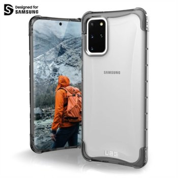 Калъф за Samsung Galaxy S20 Plus, хибриден, Urban Armor Plyo 211982114343, удароустойчив, прозрачен image