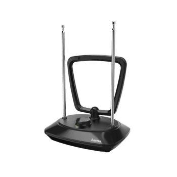 Вътрешна антена HAMA Performance 35, DVB-T/DVB-T2, 7-17 dBi, активна, черен image