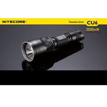 Фенер Nitecore CU6, 1x 18650/ 2x CR123A батерии, 440 lm, водонепропускливост, удароустойчив, джобен image