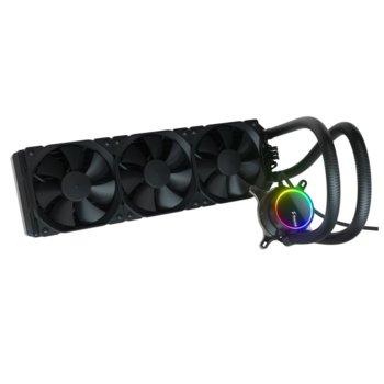 Водно oхлаждане за процесор Fractal Design CELSIUS+ S36 DYNAMIC, съвместимост със сокети Intel LGA1200/1150/1151/155/1156/1366/2011/2011-3/2066 & AMD AM2/AM2+/AM3/AM3+/AM4/FM1/FM2/FM2+/TR4 image