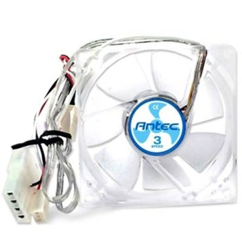 Вентилатор 80mm, Antec TriCool 80, 3-pin, 2600 rpm image