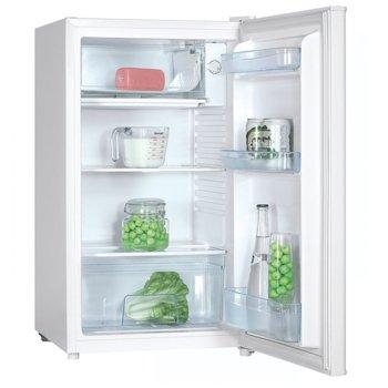 Хладилник с камера Crown DF 120A, клас A+, 90 л. общ обем, свободностоящ, 110 kWh/годишно, LED осветление, механичен контрол, бял  image