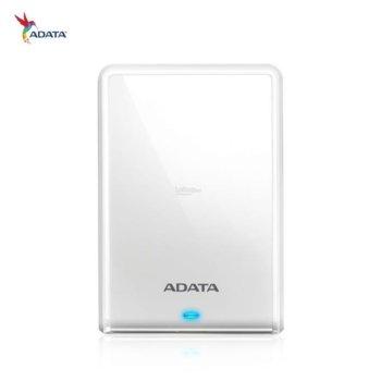 """Твърд диск 2TB A-Data HV620S (бял), външен, 2.5"""" (6.35 cm), USB 3.1 image"""