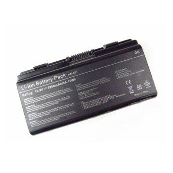 Батерия (заместител) за ASUS, съвместима с X51 Series/ASUS T12 Series, 6cell, 11.1V, 4400 mAh  image