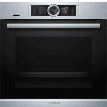 Фурна за вграждане Bosch HSG636XS6 SER8, клас A+, 71 л. обем, 4D hot air, Vario grill, инокс  image