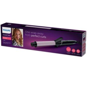 Маша за коса Philips StyleCare BHB864/00, 8 степени на температурата, размер на цилиндъра 25 мм, 60 сек време за загряване, въртящ се кабел, черна image