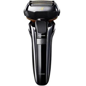 Сaмобръснaчкa Panasonic ES-LV6Q-S803, за влажно или сухо бръснене, безжична, 5 остриета, глава Multi-Flex 5D, 1 степен на скорости, до 45 минути време на работа, черна image