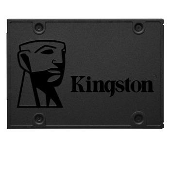 Памет SSD 960GB Kingston A400, SATA3 (6Gb/s), 2.5(6.35см), 500MB/s Read and 450MB/s Write image