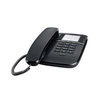 Стационарен телефон Gigaset DA510, черен image