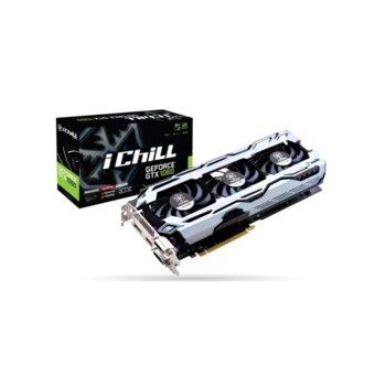 Видео карта Nvidia GeForce GTX 1060, 6GB, Inno3D iChill, PCI-E, GDDR5, 192bit, HDMI, DisplayPort, DVI-D image