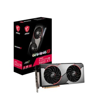 Видео карта AMD Radeon RX 5600 XT, 6GB, MSI GAMING X, PCI-E 4.0, GDDR6, 192 bit, DisplayPort, HDMI  image