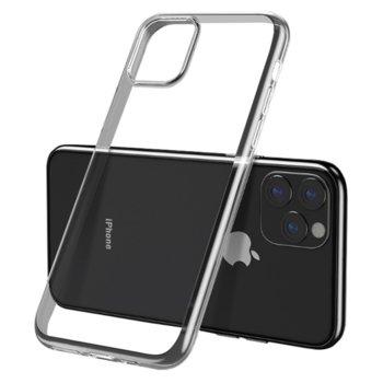 Калъф за Apple iPhone 11 Pro Max, страничен протектор с гръб, силиконов, Remax Light Slim, дизайн очертаващ оригиналните извивки на устройството, прозрачен image