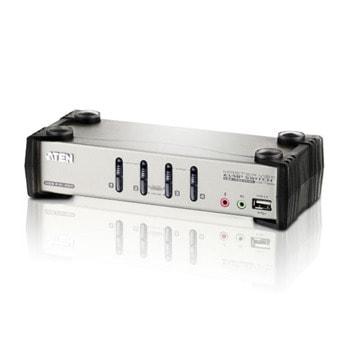 KVM суич Aten CS1734B, от 4x SPHD-15 (ж) към HDB (ж), USB, до 2048x1536 @60Hz резолюция image