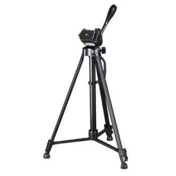 Статив Hama Gamma 153, мин/макс. височина 58-153 cm, 3 кг. товароносимост, алуминий, черен image