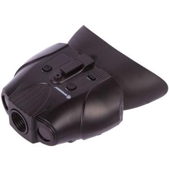 Бинокъл Bresser 73042 1–2x, цифров за нощно виждане, 2x оптично увеличение, инфрачервено осветление със 7 нива на яркост, 3000mA батерия, черен image