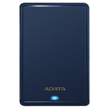"""Твърд диск 1TB A-Data HV620S (син), външен, 2.5"""" (6.35 cm), USB 3.1 image"""