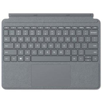 Клавиатура за таблет Microsoft Surface GO Type Cover, съвместима със Surface GO, вграден тъчпад, подсветка, магнитна, сива image