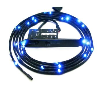 Led лента NZXT Sleeved LED Kit 2m Blue, 2.0 m image