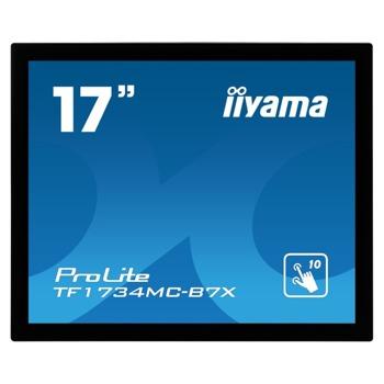 "Монитор IIYAMA TF1734MC-B7X, 17"" (43.18 cm) TN панел, SXGA, 5ms, 315cd/m2, DP/HDMI/VGA image"