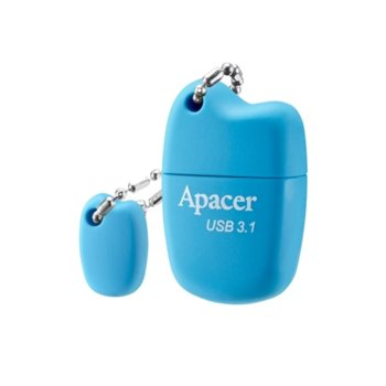 Памет 32GB USB Flash Drive, Apacer AH159, USB 3.1, син image