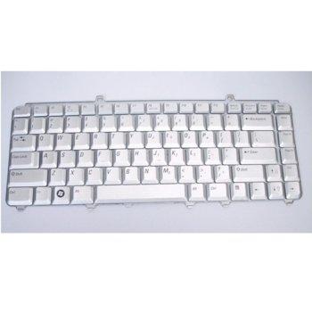 Клавиатура за лаптоп Dell, съвместима със серия Inspiron 1400 1420 1520 1525, сребриста, US/UK image