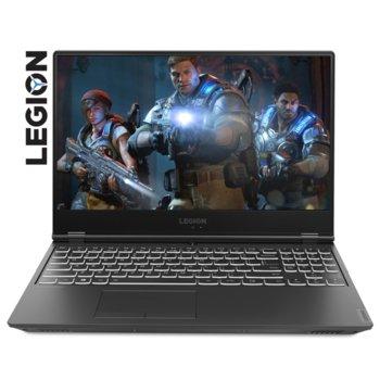 "Лаптоп Lenovo Legion Y540-15IRH (81SX011HBM), шестядрен Coffee Lake Intel Core i7-9750H 2.6/4.5 GHz, 15.6"" (39.62 cm) Full HD Anti-Glare 144Hz Display & GTX 1660 Ti 6GB, (mDP), 8GB DDR4, 512GB SSD, 1x USB-C, No OS image"