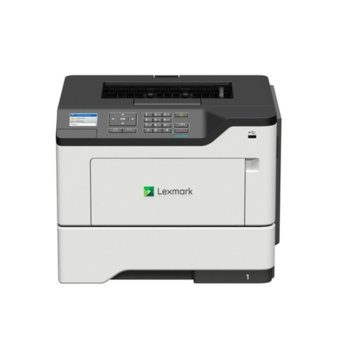 Лазерен принтер Lexmark MS621dn, монохромен, 1200 x 1200 dpi, 47 стр/мин, LAN1000, USB, А4  image