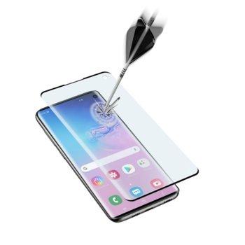 Протектор от закалено стъкло /Tempered Glass/ Cellular Line, за Samsung Galaxy S10 image
