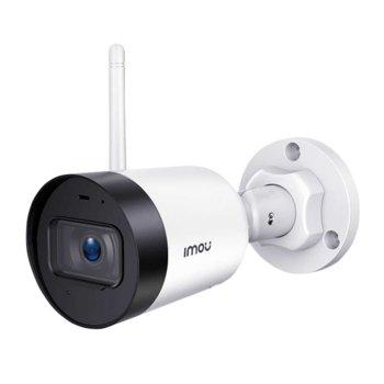 "IP камера Dahua Imou Bullet Lite IPC-G22, безжична, насочена ""bullet"" камера, 2MP (1920x1080@30fps), 2.8mm обектив, H.265/H.264, IR осветление (до 30m), Wi-Fi, microSD слот, вграден микрофон image"