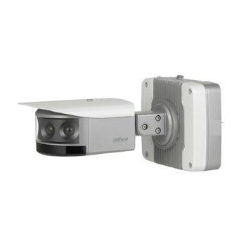 "IP камера Dahua IPC-PF83230-A180, насочена ""bullet"" камера, 32(4x8) MPix(8640x3840@25FPS), 4.5mm обектив, H.265/H.264/H.264B/H.264H/MJPEG, IR осветление (до 30 m), външна, RJ-45, Micro SD слот, IP67 2x аудио вход, аудио изход image"