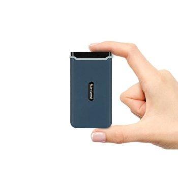 Памет SSD 240GB Transcend ESD350C, USB 3.1 Gen2 Type C, външно, преносимо, скорост на четене 1050 MB/s, скорост на записа 950 MB/s image