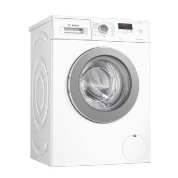 Перална машина Bosch WAJ24061BY, клас A+++, 8 кг. капацитет, 1200 оборота, свободностояща, 59.8 cm ширина, бяла image