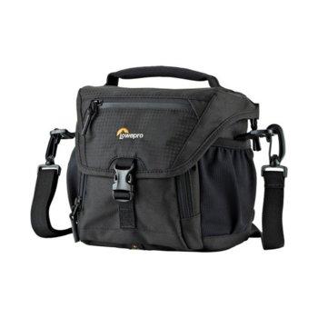 Чанта за фотоапарат Lowepro Nova 140 AW II, за DSLR фотоапарати и обективи, полиестер, черна image