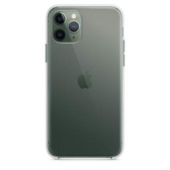 Калъф за Apple iPhone 11 Pro Max, хибриден, Apple Clear Case MX0H2ZM/A, прозрачен image