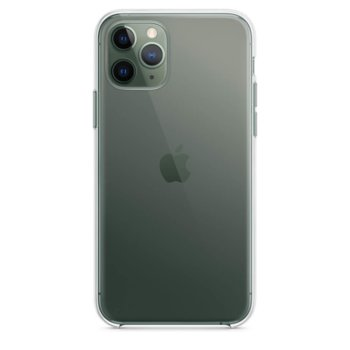Калъф за Apple iPhone 11 Pro Max, хибриден, Apple Clear Case MX0H2ZM/A, прозрачен image