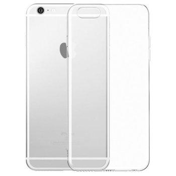 Калъф за Apple iPhone 6, силиконов, тънък, прозрачен image