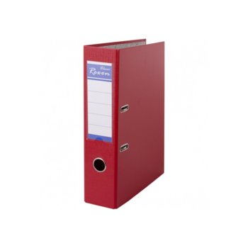 Класьор Rexon, за документи с формат до A4, дебелина 8см, червен image