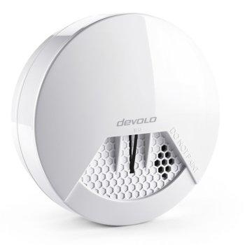 Детектор за дим devolo 09890, Z-Wave безжичен стандарт, 4 аларми едновременно, бързо и лесно позициониране image