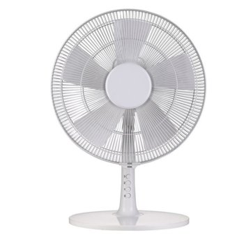 Настолен вентилатор Finlux FDF-1655, 3 скорости, 40 см. диаметър, 55 W, бял image